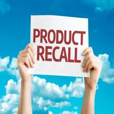 Product Recalls: how you can make money from these
