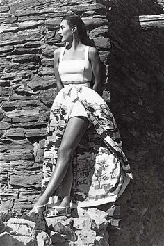 Summertime 1950s playsuit elegance