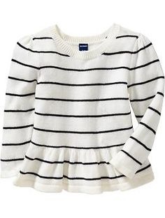 Peplum-Hem Sweaters for Baby | Old Navy