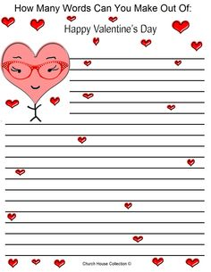happy valentines day word search answers