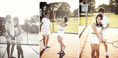 James & Joannes Tennis Engagement Shoot