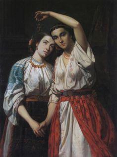 Theodor Aman, nu doar un nume in istoria artei Academic Art, Art Database, Great Artists, Art Images, Art Prints, Artwork, Romanticism Paintings, Romanian Flag, Nightlights