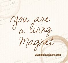 You are capable of attracting all that the universe has to offer you. You just need to learn how to do it.