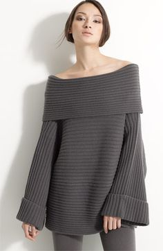 Donna Karan Cashmere. This is somthing I can make but it is boring to knit....maybe in front for thetv?!