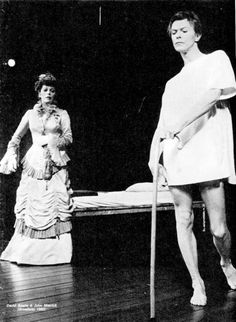 David Bowie in The Elephant Man, 1980-1981