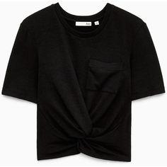 subah t-shirt Aritzia ($40) ❤ liked on Polyvore featuring tops, t-shirts, shirts, t shirts, shirt top and tee-shirt