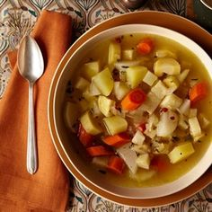 April Bloomfields Hearty Root Vegetable Soup | Slow Food Fast - WSJ.com