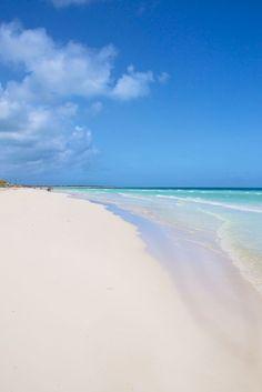 Cayo santa maria beach in cuba