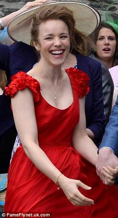 Rachel McAdams. She's so adorable! She will always be my fav actress! LOVE HER!