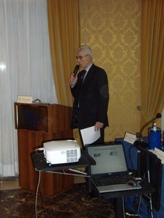 Il Presidente AIRA Veneto, Massimo Borriello,  durante lo svolgimento della tavola rotonda - V° GPAV @ Hotel Amadeus di Venezia.
