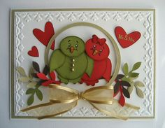 Cute card for anniversary or maybe even a Valentine
