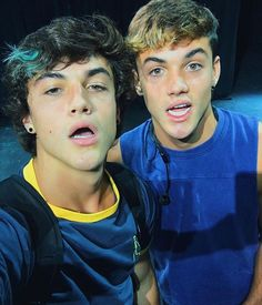 Ethan and Grayson in Anaheim