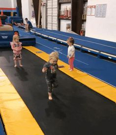 My child's Olympic gymnastics career is off to a rocky start.