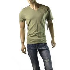 Calvin Klein T Shirt Mens V Neck Textured Utility Pocket Tee Shirts Size M NEW #CalvinKleinJeans #BasicTee | http://www.ebay.com/sme/imagestudio714/Save-10-for-every-100-you-spend/so.html?_soffid=5001623600&_sid=2054254
