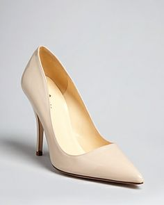 Got these Kate Spade Licorice heels and LOVE them. They look just like the Christian Louboutin decolletes but half the price and much more comfortable! Obsessed. Want them in every color now!
