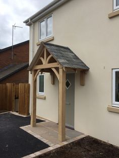 Grosvenor Oak porch