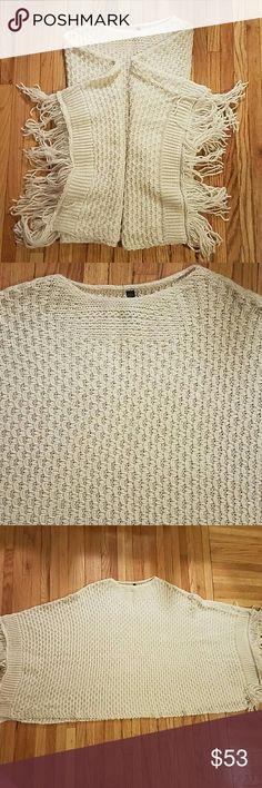 Elan Sweater Poncho