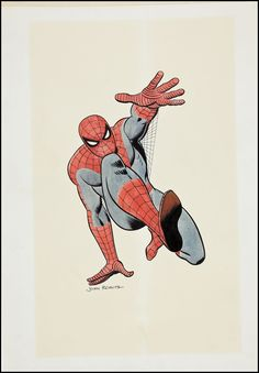 /by Johnny Romita #drawing #comic #Spiderman
