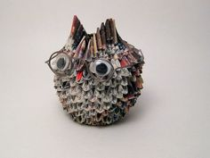 whoa, paper art Granny Owl (2nd view) | Flickr