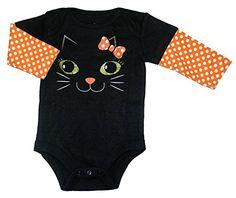 Assorted Witch, Pumpkin, Cat Boys' & Girls' Halloween Bodysuit Dress Up Outfit (Newborn, Black Kitty Cat) Topsville, Inc. http://www.amazon.com/dp/B012APQYYS/ref=cm_sw_r_pi_dp_jgUcwb1GBJGAX