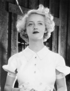 "Bette Davis in Cabin in the Cotton 1932 "" I'd kiss you, but I just washed my hair """