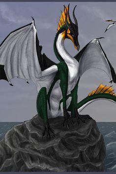 Water dragon.It looks like a penguin dragon.