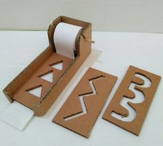Diy Cardboard Maze prewriting For your writing skill.Tap the link to check out great fidgets and sensory toys. Check back often for sales and new items. Happy Hands make Happy People! Motor Skills Activities, Preschool Learning Activities, Infant Activities, Fine Motor Skills, Preschool Activities, Kids Learning, Writing Activities, Material Didático, Pre Writing