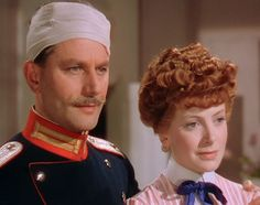 "Theo and Edith ""The Life and Death of Colonel Blimp"" 1943."