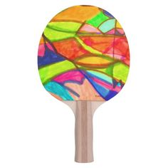 Visual Arts 702 Ping-Pong Paddle