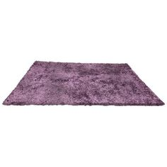 """Hand-Woven Silky Purple Rug - 9'1"""" X 11'9"""" ($880) ❤ liked on Polyvore featuring home, rugs, contemporary handmade rugs, contemporary area rugs, contemporary modern area rugs, cotton rugs, purple rug and hand-loomed rug"""