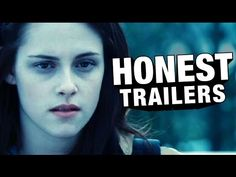 If Movie Trailers Were Honest Presents.And even more stares . New Twilight, Twilight Series, Twilight Movie, Funny Twilight, Screen Junkies, Creepy Movies, Sports Magazine, Dawn Of Justice, Movie Trailers