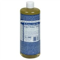 Dr. Bronner's soap reviews and uses, for making homemade cleaning products and more {on Stain Removal 101}
