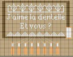 brodeuse - embroiderer - dentelle - point de croix - cross stitch - Blog…
