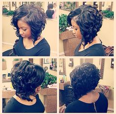 Love Curly bob hairstyles? wanna give your hair a new look? Curly bob hairstyles is a good choice for you. Here you will find some super sexy Curly bob hairstyles, Find the best one for you, #Curlybobhairstyles #Hairstyles #Hairstraightenerbeauty