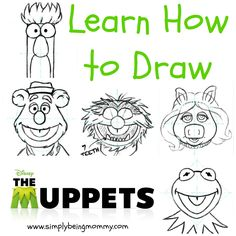 How to Draw The Muppets