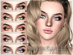 Matte Eyephoria Eyeshadow by Pralinesims - Sims 3 Downloads CC Caboodle