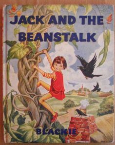 Vintage JACK AND THE BEANSTALK Illustrated by JEAN D. HOWE Blackie & Son Ltd