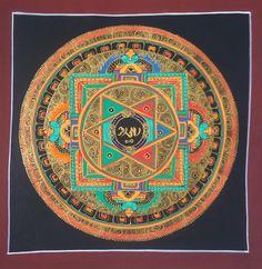 Handmade Nepal Mandala