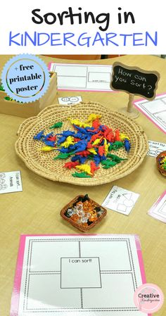Sorting in Kindergarten