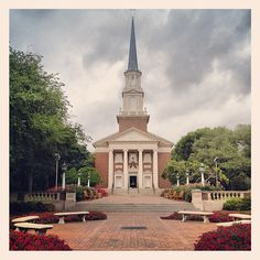 Perkins Chapel SMU Southern Methodist University Campus Dallas...I used to worship here when I was a student at SMU.........b