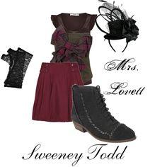 Mrs. Lovett from Sweeney Todd :D