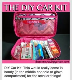A DIY car kit is not the same thing as an emergency kit - they serve different purposes. A true Emergency Kit should go in the back of th. Maserati Ghibli, Bmw I8, Kit Cars, Car Kits, Car Life Hacks, Car Hacks, Aston Martin Vanquish, Diy Auto, Cute Car Accessories