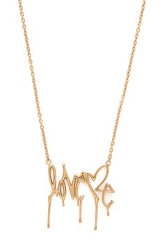 Curtis Kulig Orchard Script Necklace