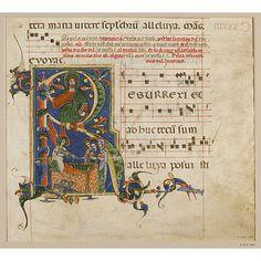 Manuscript  Date: late 13th century (illuminated)  Place: Arezzo