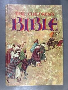 Find The Children's Bible: The Old Testament, The New Testament - . - The Children's Bible: The Old Testament, The New Testament - Used Books My Childhood Memories, Childhood Toys, Sweet Memories, 1970s Childhood, Cherished Memories, Old And New Testament, Thing 1, Old Toys, The Good Old Days