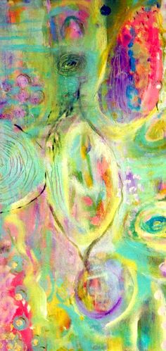 Calm - acrylic by ©Annie Lockhart (via Etsy) or http://annielockhart.typepad.com/