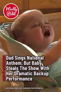 Love it when she closes her eyes and sings. She is so cute. This baby has artistic talent and a natural love for music. #Anthem #baby #music Cute Funny Baby Videos, Cute Funny Babies, American Anthem, Baby Singing, Star Spangled Banner, Cute Baby Dogs, Baby Music, National Anthem, Family First