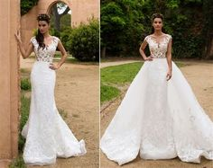 Ball Gown Wedding Dresses Ideas: 2017 Wedding Dress | CONVERTIBLE WEDDING DRESS! TWO LOOKS IN ONE WITH A DETACHAB