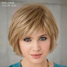 The Meg WhisperLite Wig by Paula Young is a bob style. - Paula Young