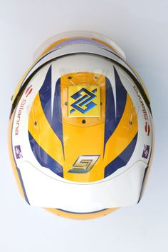 2016 #F1 Season Head Gear for Pilot Marcus Ericsson of #SauberF1Team #MarcusEricsson